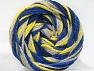 Fiber Content 50% Polyamide, 50% Acrylic, Neon Yellow, Brand ICE, Blue Shades, Beige, fnt2-59352