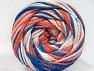 Fiber Content 50% Acrylic, 50% Polyamide, White, Salmon, Brand ICE, Blue, fnt2-59355