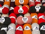 Wool Light This mixed lot includes a total of 2000 gr (70.5 oz.) yarn. There is no standard for ball weight. Also disregard any information on the labels. You will get what you see in the photo. Περιεχόμενο ίνας 50% Μαλλί, 50% Ακρυλικό, Brand ICE, fnt2-59413
