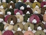 Sale Winter This mixed lot includes a total of 2000 gr (70.5 oz.) yarn. There is no standard for ball weight. Also disregard any information on the labels. You will get what you see in the photo. Fiber Content 45% Acrylic, 45% Wool, 10% Polyamide, Brand ICE, fnt2-59647