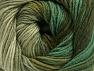 Vezelgehalte 70% Acryl, 30% Merino wol, Khaki, Brand ICE, Green Shades, fnt2-59774