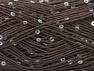 Contenido de fibra 90% Acrílico, 10% Paillette, Brand ICE, Brown, fnt2-59859