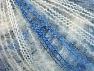 Contenido de fibra 37% Kid Mohair, 35% Acrílico, 28% Poliamida, White, Brand ICE, Blue Shades, fnt2-59961