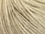 Vezelgehalte 50% Merino wol, 25% Alpaca, 25% Acryl, Brand ICE, Cream melange, Yarn Thickness 4 Medium  Worsted, Afghan, Aran, fnt2-60090