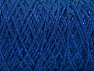 Fiber Content 90% Cotton, 10% Metallic Lurex, Brand ICE, Blue, Yarn Thickness 4 Medium  Worsted, Afghan, Aran, fnt2-60136