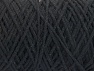 Fiber Content 100% Cotton, Brand ICE, Black, Yarn Thickness 4 Medium  Worsted, Afghan, Aran, fnt2-60142