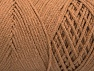 Fiber Content 100% Cotton, Brand ICE, Cafe Latte, Yarn Thickness 4 Medium  Worsted, Afghan, Aran, fnt2-60146