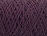 Fiber Content 100% Cotton, Purple, Brand ICE, Yarn Thickness 4 Medium  Worsted, Afghan, Aran, fnt2-60150
