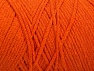 Fiber Content 100% Cotton, Orange, Brand ICE, Yarn Thickness 4 Medium  Worsted, Afghan, Aran, fnt2-60155