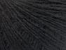 Fiber Content 50% Wool, 50% Acrylic, Brand ICE, Black, Yarn Thickness 2 Fine  Sport, Baby, fnt2-60178