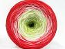 Fiber Content 50% Acrylic, 50% Cotton, White, Salmon, Light Green, Brand ICE, Yarn Thickness 2 Fine  Sport, Baby, fnt2-60274