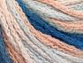 Fiber Content 50% Acrylic, 50% Polyamide, White, Light Salmon, Light Blue, Brand ICE, Yarn Thickness 4 Medium  Worsted, Afghan, Aran, fnt2-60358