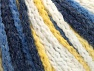 Fiber Content 50% Polyamide, 50% Acrylic, Yellow, White, Navy, Brand ICE, Blue, Yarn Thickness 4 Medium  Worsted, Afghan, Aran, fnt2-60441