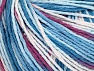 Fiber Content 100% Acrylic, White, Orchid, Brand ICE, Blue Shades, fnt2-60460