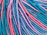 Fiber Content 100% Acrylic, Turquoise Shades, Salmon, Lilac, Brand ICE, fnt2-60461