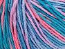 Περιεχόμενο ίνας 100% Ακρυλικό, Turquoise Shades, Salmon, Lilac, Brand ICE, fnt2-60461