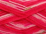 Fiber Content 100% Baby Acrylic, White, Pink Shades, Brand ICE, Green, Yarn Thickness 2 Fine  Sport, Baby, fnt2-60870