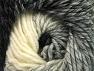 Fiber Content 75% Premium Acrylic, 25% Wool, White, Brand ICE, Grey, Black, fnt2-61012