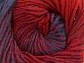 Fiber Content 75% Premium Acrylic, 25% Wool, Red, Brand ICE, Blue, fnt2-61021