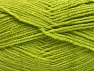 Fiber Content 100% Acrylic, Light Green, Brand ICE, Yarn Thickness 3 Light  DK, Light, Worsted, fnt2-61083