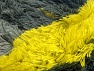 Fiber Content 95% Acrylic, 5% Polyester, Neon Yellow, Brand ICE, Grey Shades, Yarn Thickness 6 SuperBulky  Bulky, Roving, fnt2-61123