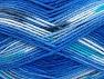 Περιεχόμενο ίνας 100% Baby Ακρυλικό, Turquoise, Light Grey, Brand ICE, Blue Shades, fnt2-61135
