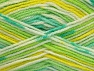 Fiber Content 100% Acrylic, Yellow, White, Brand ICE, Green Shades, fnt2-61342