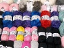 Fancy Yarns This mixed lot includes a total of 2500 gr yarn. There is no standard for ball weight. Also disregard any information on the labels. You will get what you see in the photo. Brand ICE, fnt2-61448