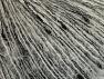 Contenido de fibra 5% Lurex, 35% Kid Mohair, 30% Poliamida, 30% Acrílico, Brand ICE, Grey, Black, fnt2-62069