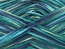 Fiber Content 100% Acrylic, Turquoise, Navy, Brand ICE, Green, fnt2-62206
