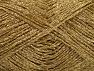 Vezelgehalte 75% Viscose, 25% Metallic lurex, Brand ICE, Dark Gold, fnt2-62236
