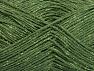 Fiber Content 75% Viscose, 25% Metallic Lurex, Irridescent, Brand ICE, Green, fnt2-62246