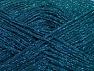 Περιεχόμενο ίνας 75% Βισκόζη, 25% Μεταλλικό lurex, Turquoise, Brand ICE, fnt2-62248