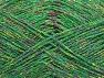 Fiber Content 75% Viscose, 25% Metallic Lurex, Brand ICE, Green, Gold, Fuchsia, fnt2-62252