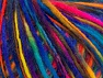 Fiber Content 60% Acrylic, 40% Wool, Rainbow, Brand ICE, fnt2-62596