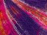 Fiberinnehåll 37% Kid Mohair, 35% Akryl, 28% Polyamid, Purple, Brand ICE, Gold, Fuchsia, Yarn Thickness 1 SuperFine  Sock, Fingering, Baby, fnt2-62663