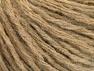Contenido de fibra 50% Acrílico, 50% Lana, Brand ICE, Dark Beige, Yarn Thickness 4 Medium  Worsted, Afghan, Aran, fnt2-62712