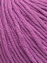 Vezelgehalte 50% Katoen, 50% Acryl, Lavender, Brand ICE, Yarn Thickness 3 Light  DK, Light, Worsted, fnt2-62751