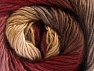 This is a self-striping yarn. Please see package photo for the color combination. Fiberinnehåll 100% Premium akryl, Pink Shades, Brand ICE, Brown Shades, fnt2-62899