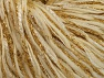 Metallic  Fiber Content 60% Wool, 30% Polyamide, 10% Metallic Lurex, Brand ICE, Gold, Cream, fnt2-62986