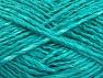 Fiber Content 43% Acrylic, 31% Viscose, 13% Polyamide, 13% Linen, Mint Green, Brand ICE, fnt2-63056