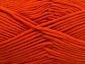 Contenido de fibra 55% Algodón, 45% Acrílico, Orange, Brand ICE, Yarn Thickness 4 Medium  Worsted, Afghan, Aran, fnt2-63098