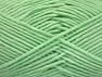 Vezelgehalte 55% Katoen, 45% Acryl, Mint Green, Brand ICE, Yarn Thickness 4 Medium  Worsted, Afghan, Aran, fnt2-63105