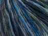 Magic Wool Worsted Blue Shades, Grey Shades