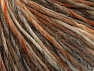 Contenido de fibra 65% Lana, 35% Acrílico, Brand ICE, Brown Shades, Yarn Thickness 4 Medium  Worsted, Afghan, Aran, fnt2-63177