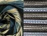 Contenido de fibra 70% Acrílico, 30% Lana, Smoke Blue, Brand ICE, Cream, Black, Yarn Thickness 3 Light  DK, Light, Worsted, fnt2-63203