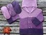 Contenido de fibra 100% Antipilling Acrylic, Purple, Lilac, Brand ICE, fnt2-63233