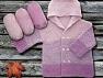 Contenido de fibra 100% Antipilling Acrylic, Light Pink, Lavender, Brand ICE, fnt2-63236