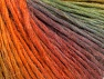 Fiber Content 50% Wool, 50% Acrylic, Maroon, Brand ICE, Green, Gold, Copper, fnt2-63264