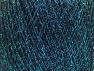 Fiberinnehåll 70% Polyamid, 30% metalliskt Lurex, Turquoise, Brand ICE, Black, fnt2-63285